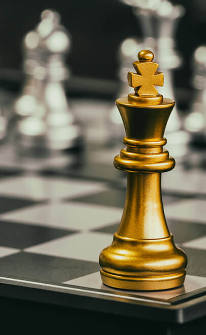 king peice in chess game